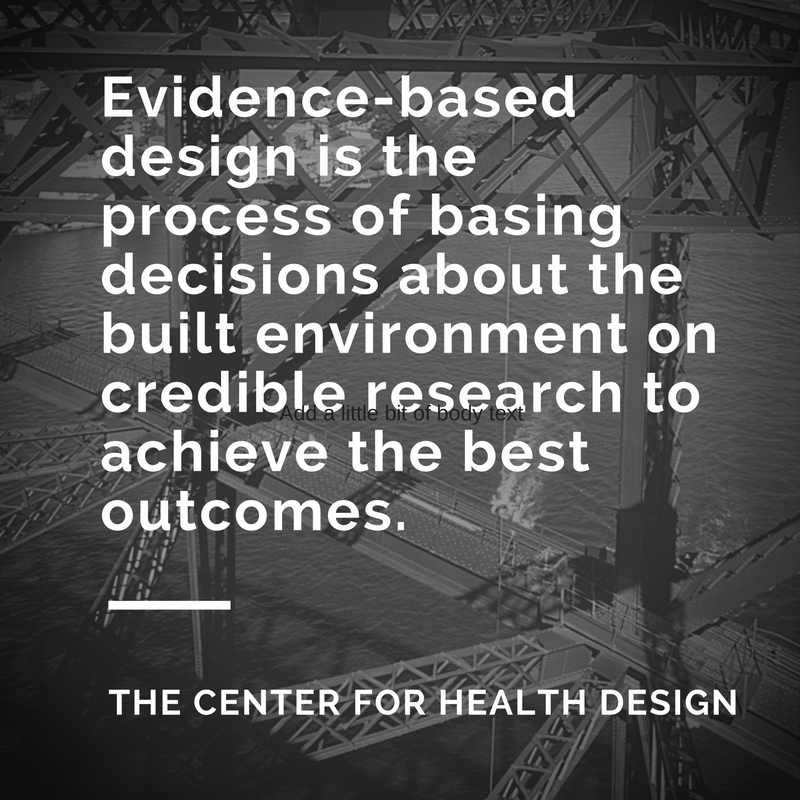 evidence based healthcare design rosalyn cama pdf