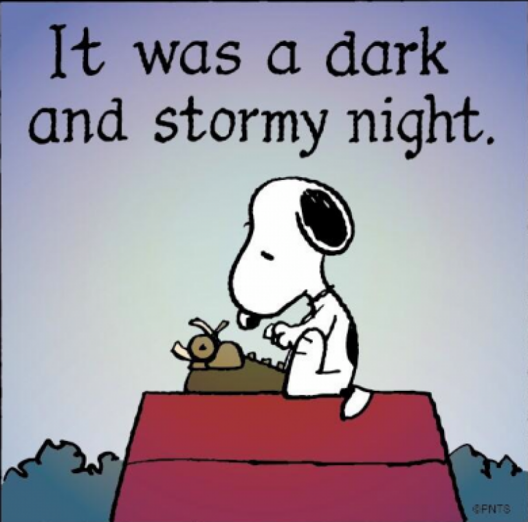 It-Was-A-Dark-and-Stormy-Night-from-Snoopy-e1375218659590