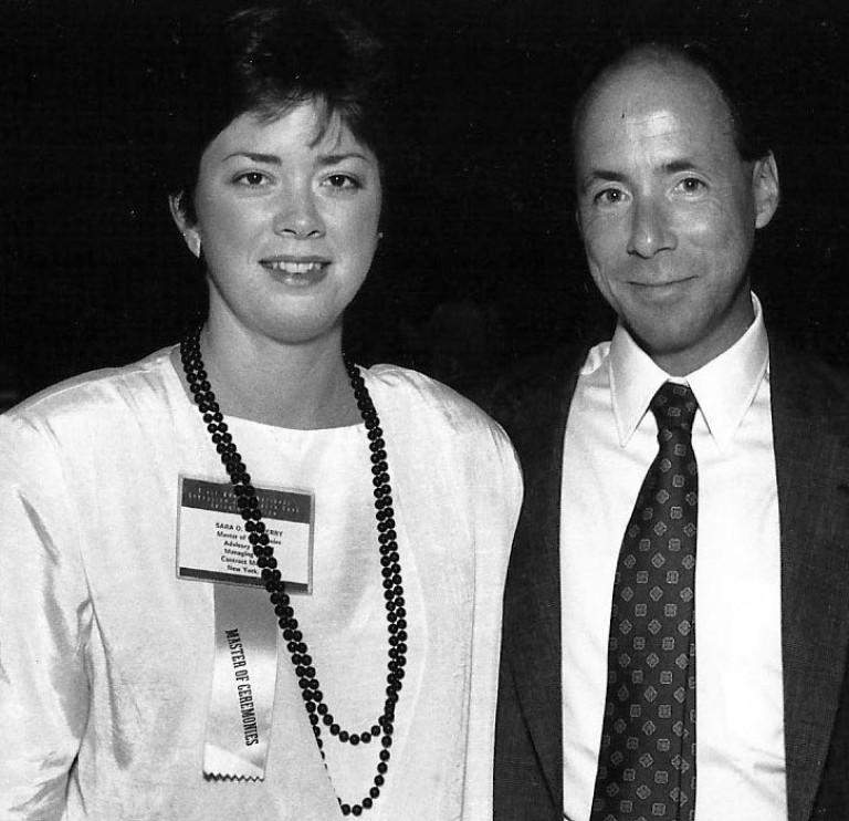 Sara Marberry and Wayne Ruga